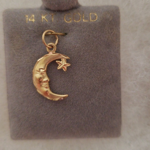 Man in the Moon Charms Pendants